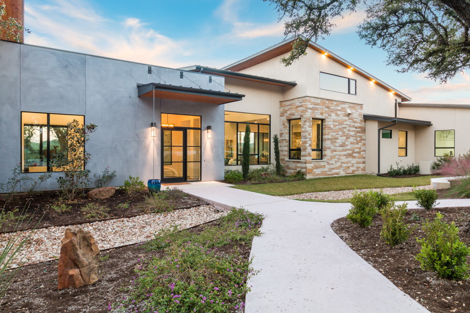 arbogast custom home builder austin tx destiny hills hill country modern
