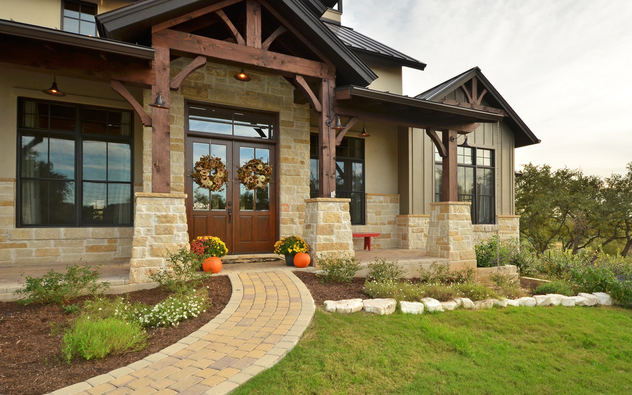 Custom home builder austin tx belvedere farmhouse