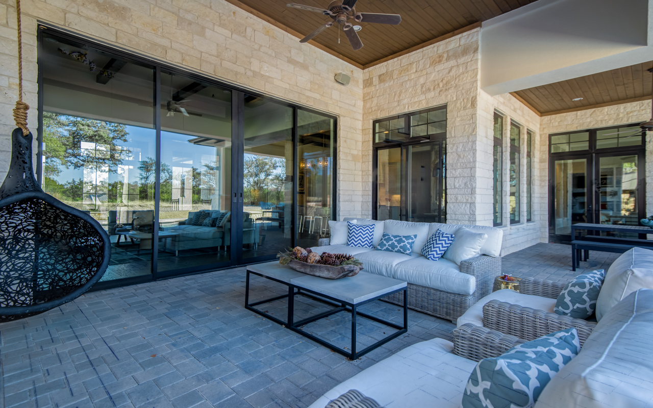Hill Country Contemporary Austin Custom Home Arbogast
