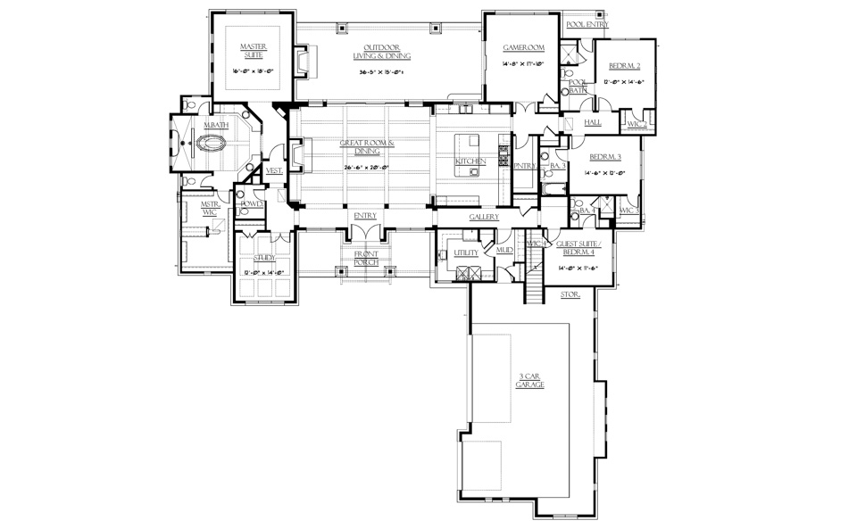 Hill country contemporary custom home for sale in dripping for Hill country contemporary house plans