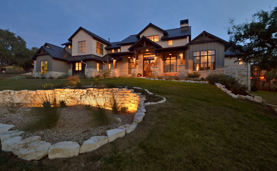 Farmhouse Austin Custom Home