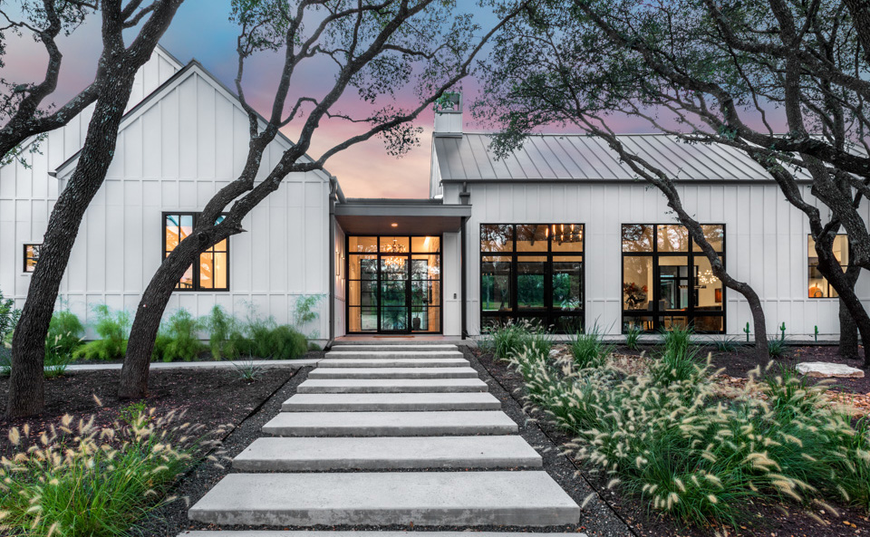 Modern Farmhouse Austin Custom Home