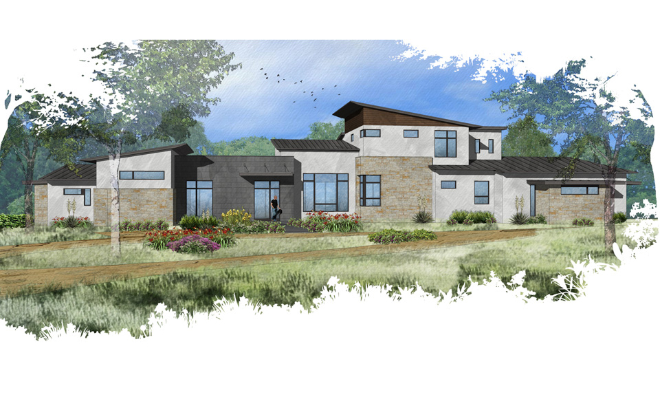 Hill Country Modern Austin Custom Home