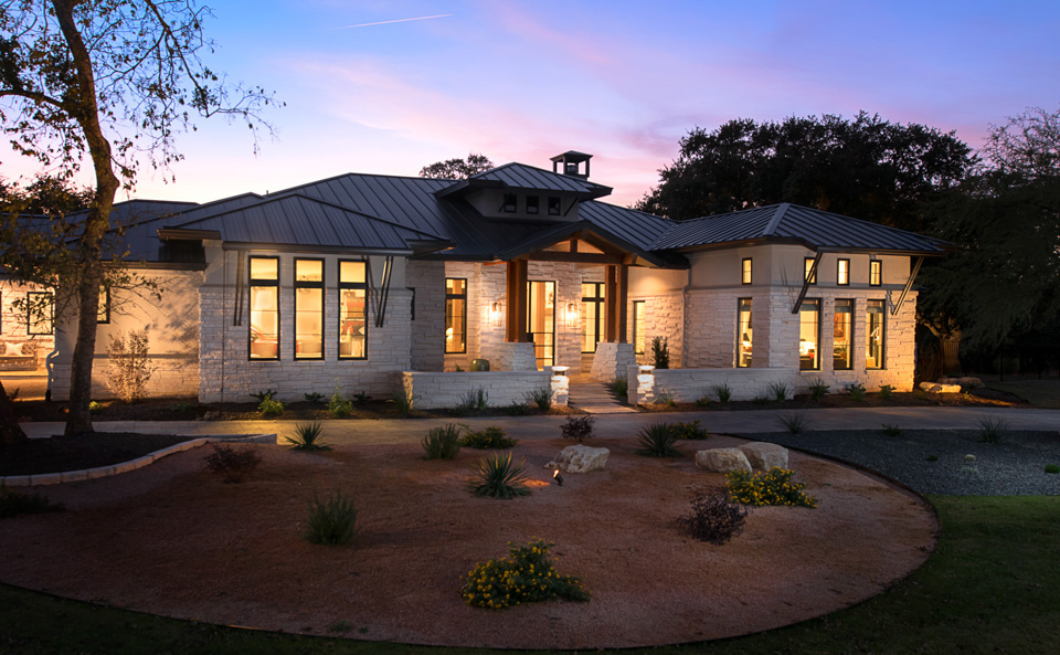 Hill Country Contemporary Austin Custom Home