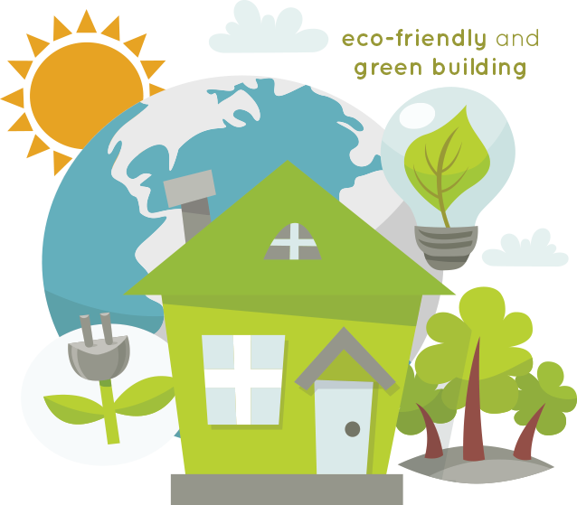 Eco Friendly And Green Building