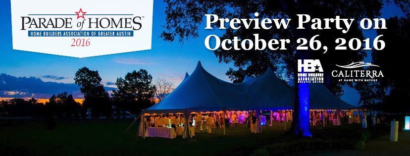 Greater Austin Parade of Homes Preview Party